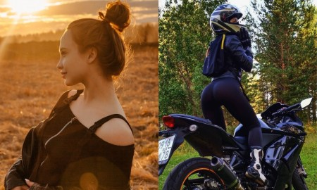 Мила, Петрозаводск, мотоциклистка