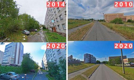 Ключевая, 10 лет назад, Петрозаводск, город, урбанистика, новостройки
