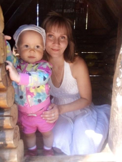 Дана с дочкой Изабеллой. Фото: личный архив