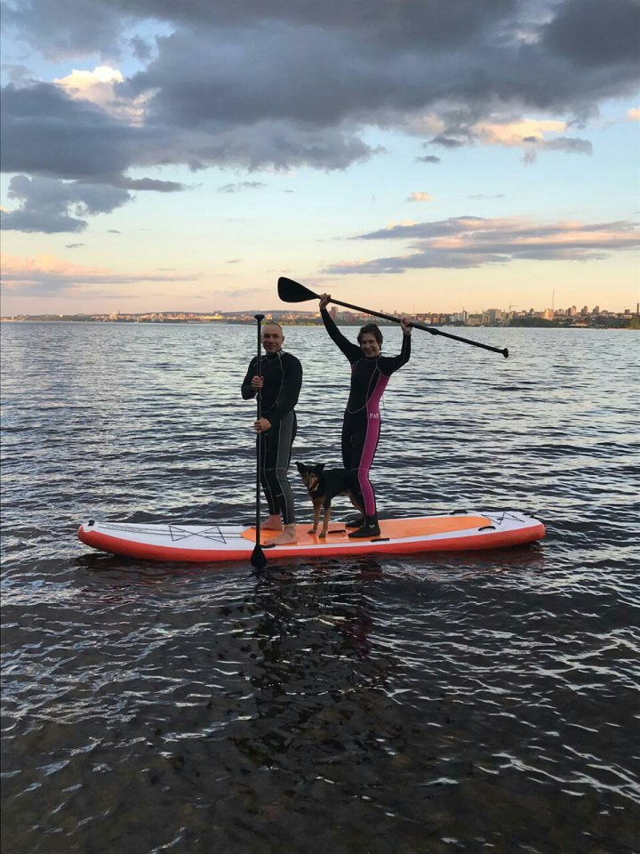 cап, озеро, спорт