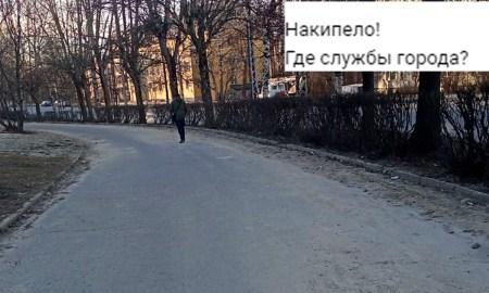 Петрозаводск после зимы утопает в пилы и мусоре