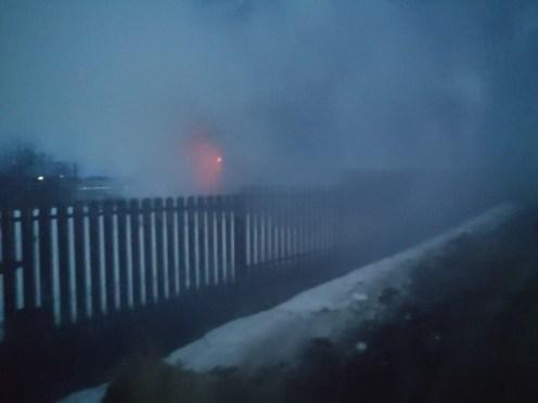 Пожар в Карелии