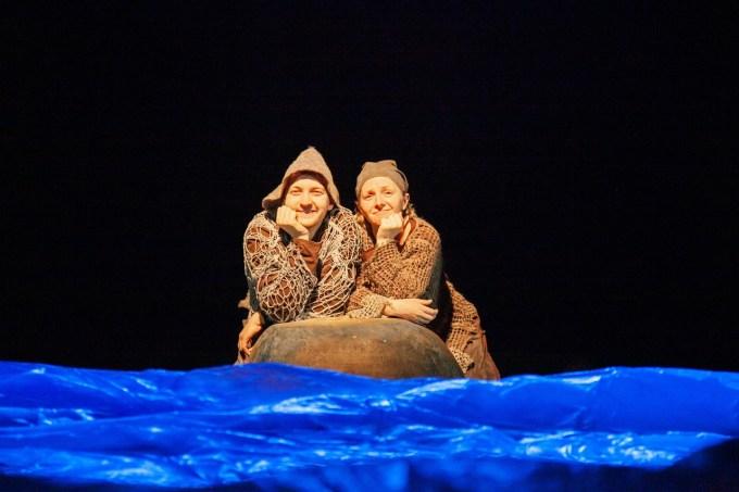 Спектакль Театра кукол РК «О рыбаке и рыбке»