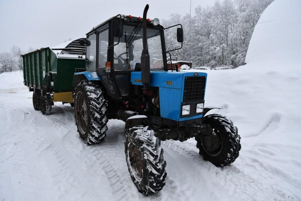 Трактор Беларус-82.1 совхоз Ведлозерский