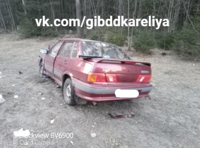 авария на трассе в Карелии
