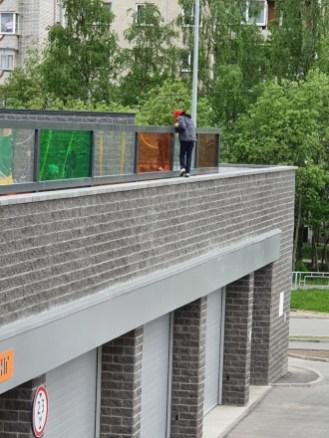 Опасная детская площадка в Петрозаводске