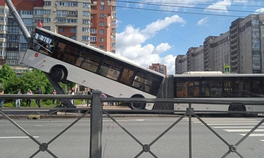 ДТП автобус Санкт-Петербург