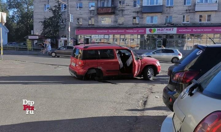 авария, Петрозаводск