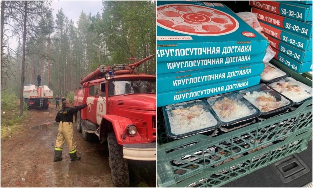 карелия, пожар, помощь волонтерам