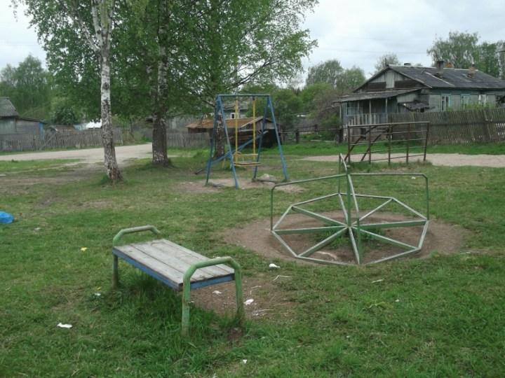 детская площадка Карелия