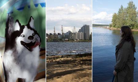 берег онежского озера, соломенское шоссе, прогулка, лето, петрозаводск