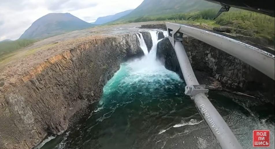 водопад Китабо-Орон