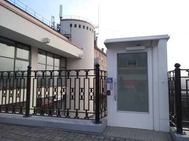 лифт на вокзале