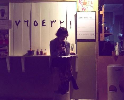 PEREMPUAN MEMBACA KARTINI (Dramatic Reading) 2017, Keke Tumbuan, sutradara Irawita Gudang Sarinah Ekosistem bekerjasama Teater Perempuan Komunitas Paseban. (foto: @69performanceclub)