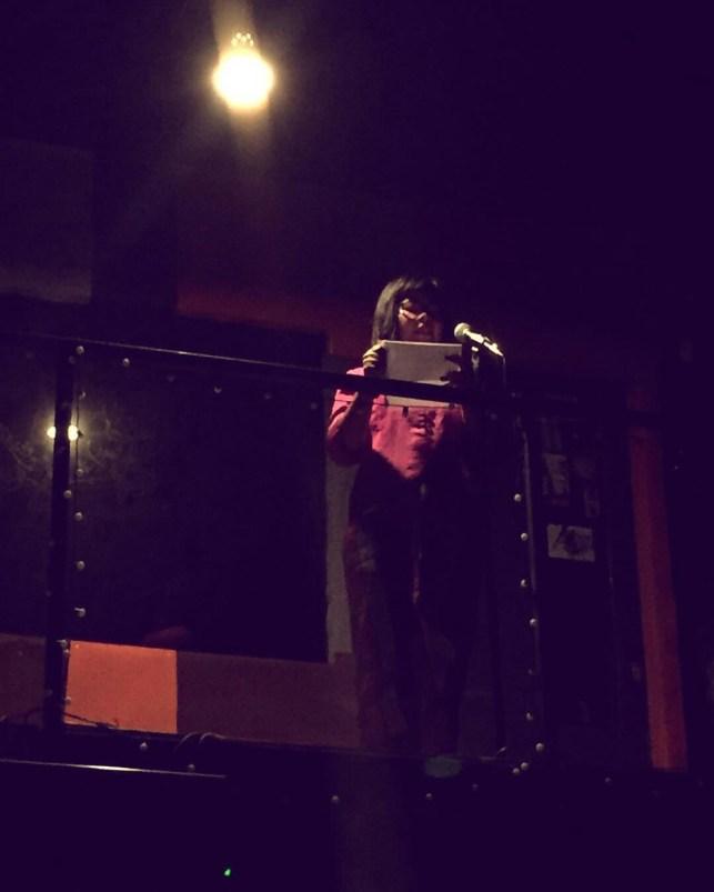 PEREMPUAN MEMBACA KARTINI (Dramatic Reading) 2017, Daniella, sutradara Irawita Gudang Sarinah Ekosistem bekerjasama Teater Perempuan Komunitas Paseban. (foto: @69performanceclub)