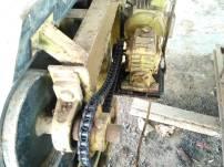 Perangkat conveyor di TPA Regional Kota Solok