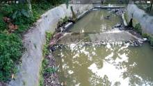 Sungai Batang Binguang di Kelurahan Kampung Jawa, Kota Solok