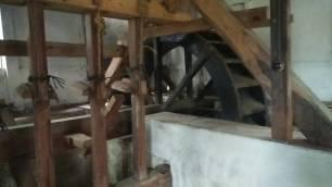 Poros Kincia, bagian dari komponen kincir penumbuk padi atau kopi