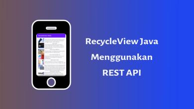 Photo of RecycleView Dengan Rest API (Java)
