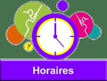 Horaires GUC Escrime Grenoble et Brié-et-Angonnes
