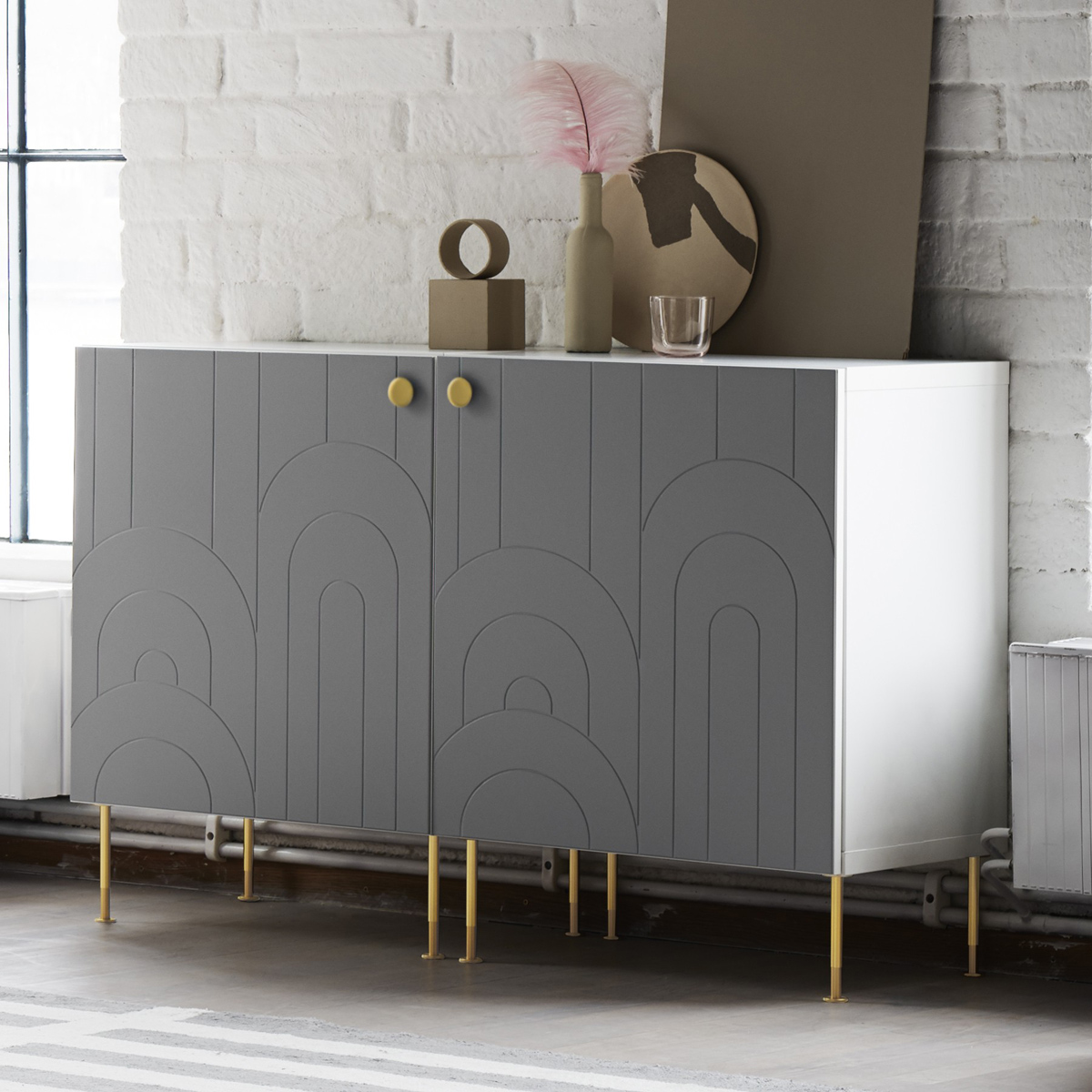 Portapiante zia flora by le zie di milano. Knobs Legs And Fronts To Customize Ikea Furniture