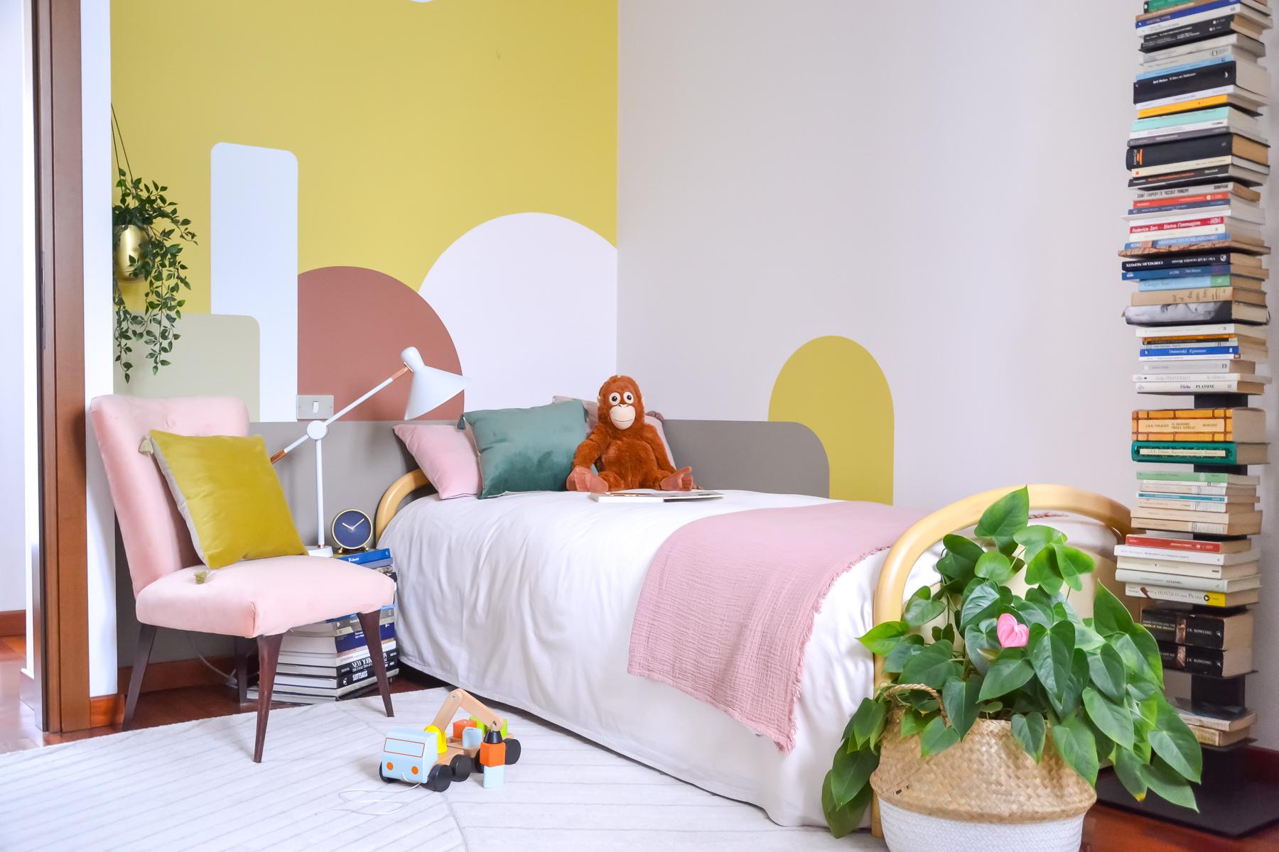 decorare le pareti della camera da letto o della cameretta. La Mia Cameretta Cambia Look Con Una Parete Decorata