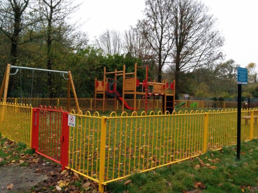 Coulson Park's new play area