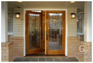 Ukuran Pintu Utama - Kaca Patri Jendela, Pintu Utama