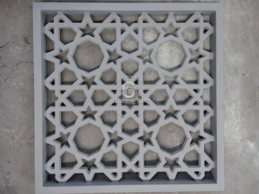 Kerajinan Aluminium Yogyakarta Sebagai Ornamen Masjid
