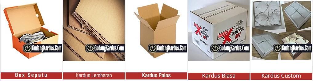 Jual Kardus dan Karton Box