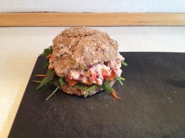 Sandwich med verdens grove bedste boller