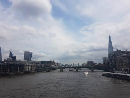 The Shard and Thames bridges