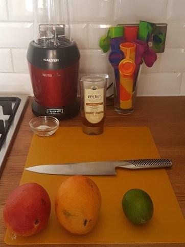 Mexican Mango Sorbet Ingredients