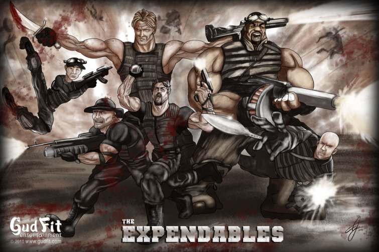 Artist AJ Moore - The Expendables