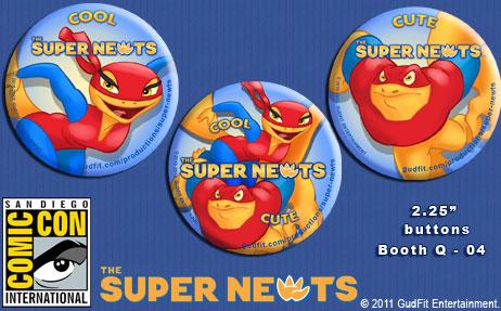 San Diego Comic Con Super Newts