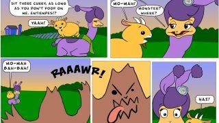Lanza and Curry - Llama Monsta Mash!