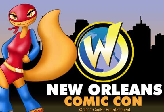 New Orleans Comic Con - GudFit Entertainment