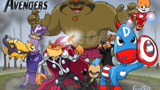 The Avengers are here, The Animal Avengers that is!