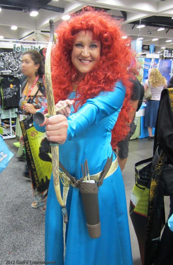 San Diego Comic Con - Pixar Brave - GudFit