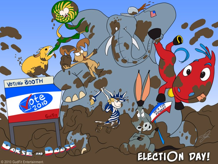 Muddy Election 2012 - GudFit Entertainment