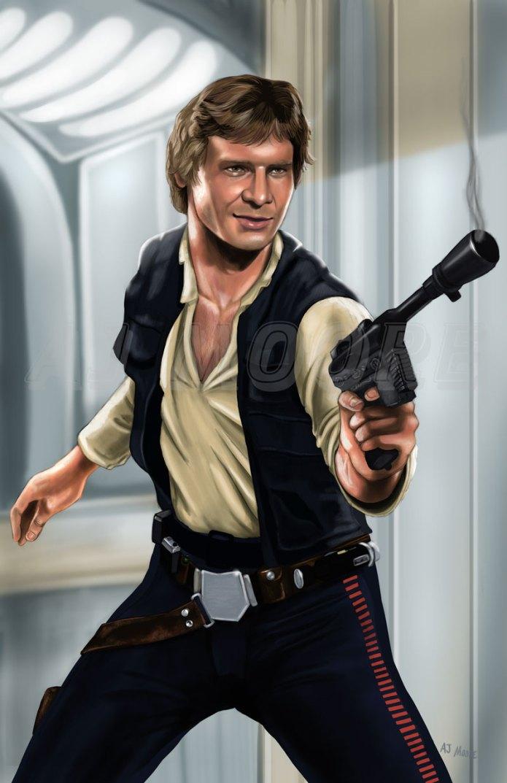Han Solo - by AJ Moore