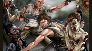 Dixon Justice: Daryl and Merle Dixon taking on the walkers.