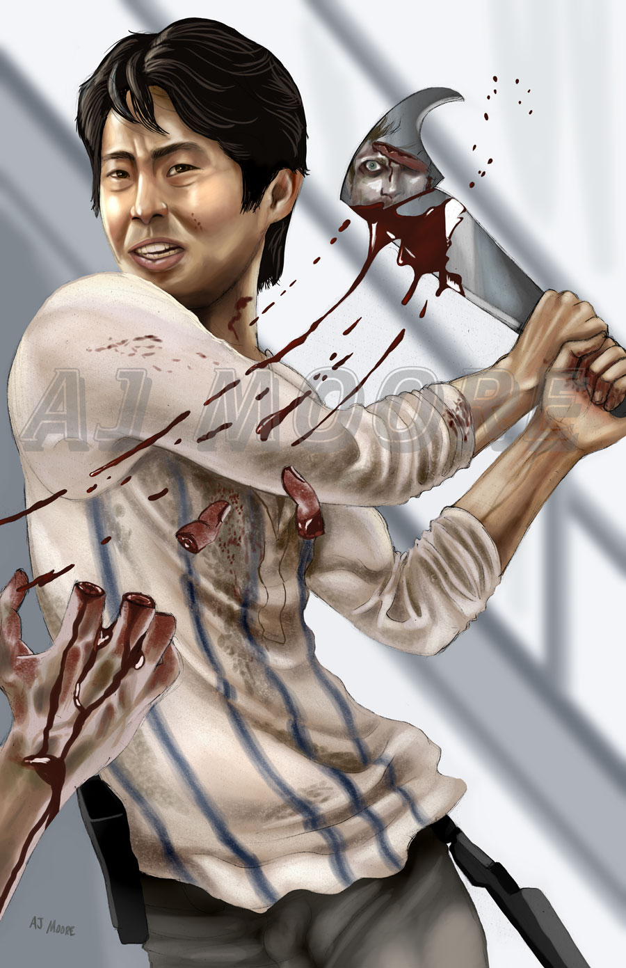 Glenn The Walking Dead: portrayed by Steven Yeun