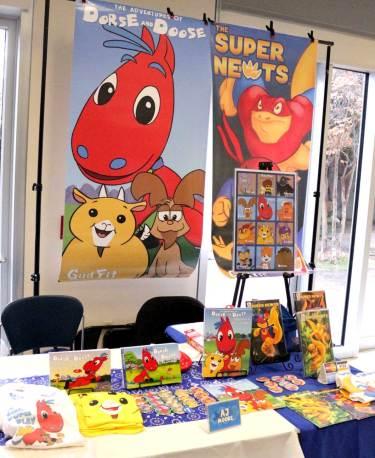 Laredo Book Festival, Dorse and Doose, The Super Newts