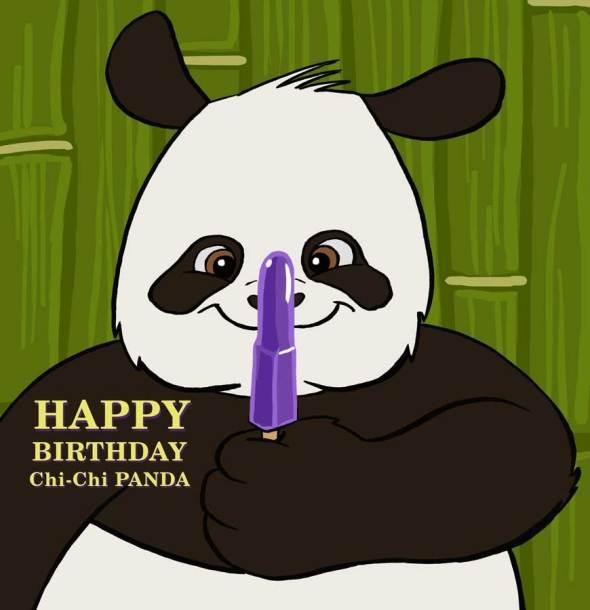 Happy Birthday ChiChi Panda!