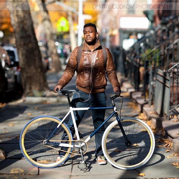 Dmitry Gudkov: bike portraits