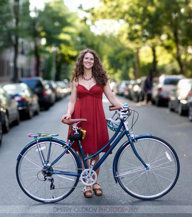 Bike Portraits - Jess | Dmitry Gudkov
