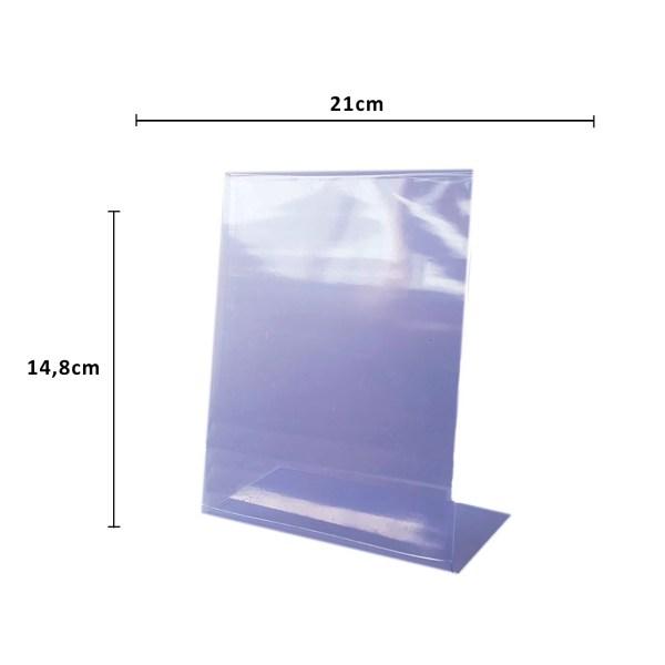 DISPLAY PVC A4/A5/A6- CAIXA COM 10 UNIDADES 2