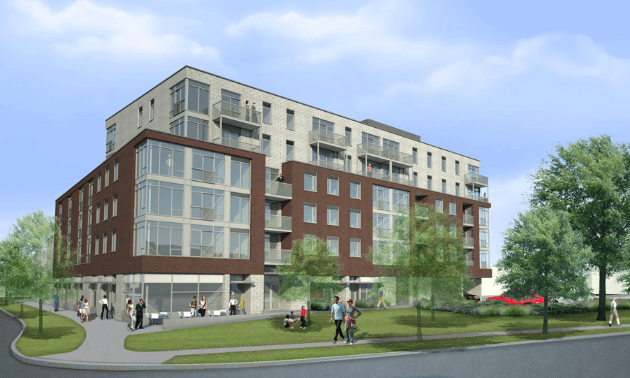 Affordable condo project - Market Commons