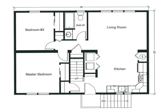 Floor Plans for New Home - should you buy a new build